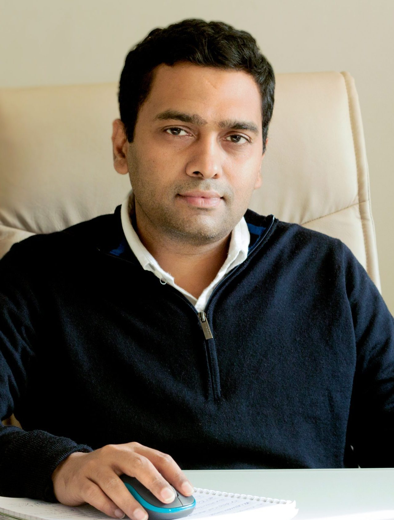 Ashutosh Jaiswal - Managing Partner, Mode de viE® - couture beading and exports company in India